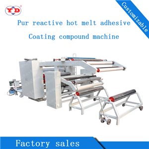 PUR Reactive Hot Melt Adhesive Coating Composite Machine  (YD-075B​)