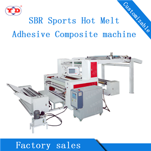 SBR Sporting Goods Hot Melt Adhesive Compound Machine (YD-006)